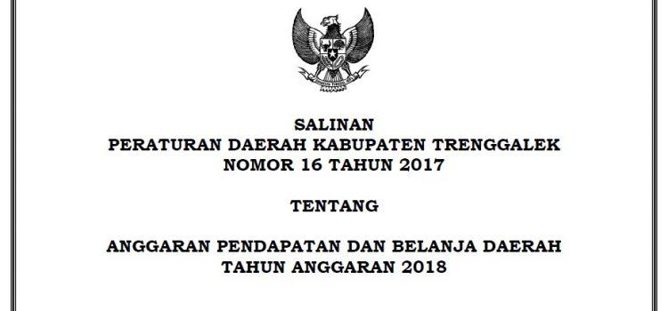 [Update] Peraturan Daerah No 16 Tahun 2017