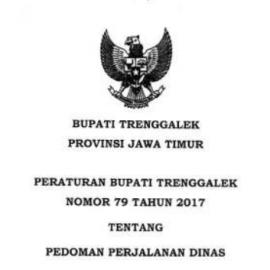 [Update] Peraturan Bupati No 79 Tahun 2017